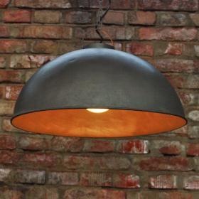 Retro závesná lampa