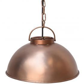 Závesná lampa Thormann malá - matná meď