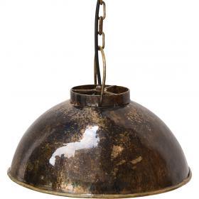 Závesná lampa Thormann malá - tmavo modrá mramorovaná