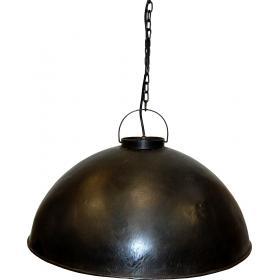 Závesná lampa v industriálnom štýle - spálený vosk