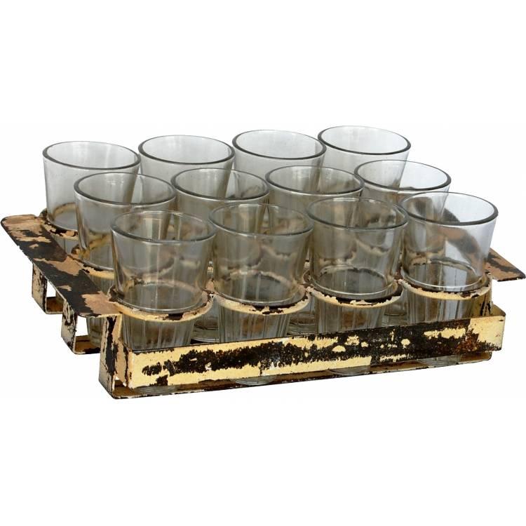 Držiak s 12 pohármi
