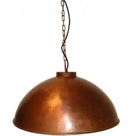 Pendant lamp, industrial style - copper
