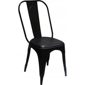 Cool iron chair - antique black