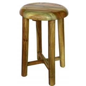 Jednoduchá stolička zo svetlého dreva