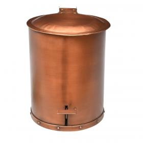 One cool pedal bin - dark copper