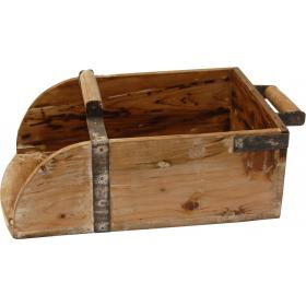 Zásobník z recyklovaného dreva